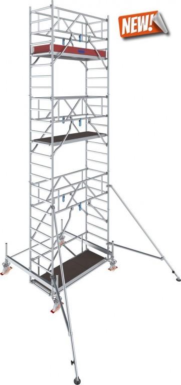 obrázek Hliníkové lešení pojízdné Stabilo 100 0,75x2,5m výška 7,4m KRAUSE