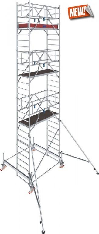 obrázek Hliníkové lešení pojízdné Stabilo 100 0,75x2,5m výška 8,4m KRAUSE