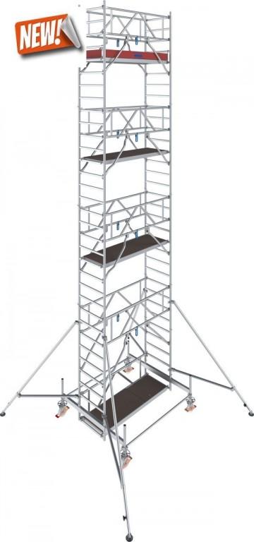 obrázek Hliníkové lešení pojízdné Stabilo 100 0,75x2,5m výška 9,4m KRAUSE