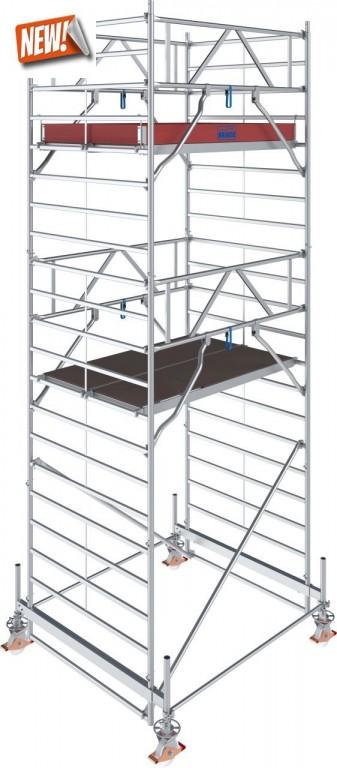 obrázek Hliníkové lešení pojízdné Stabilo 500 1,5 x 2,0m výška 6,4m KRAUSE
