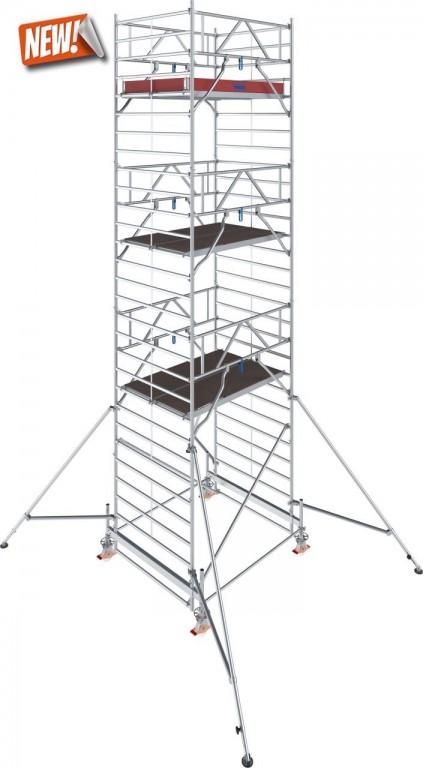 obrázek Hliníkové lešení pojízdné Stabilo 500 1,5 x 2,0m výška 8,4m KRUASE