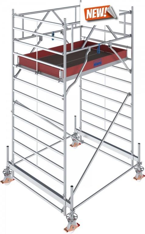 obrázek Hliníkové lešení Stabilo 500 1,5 x 2,5m výška 4,4m KRAUSE