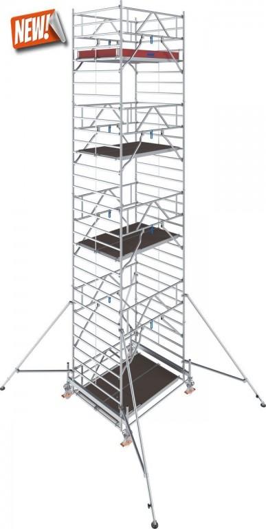 obrázek Hliníkové lešení Stabilo 500 1,5 x 2,5m výška 9,4m KRAUSE