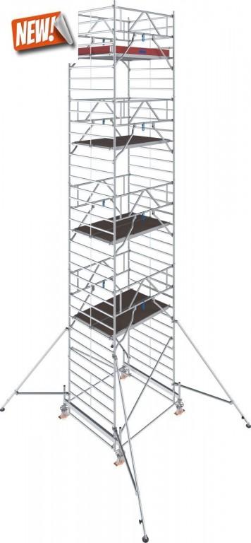 obrázek Hliníkové lešení Stabilo 500 1,5 x 2,5m výška 10,4m KRAUSE