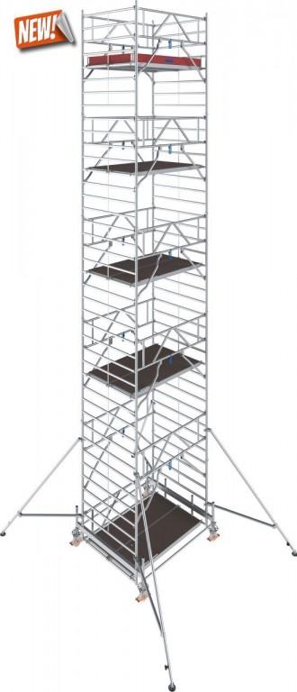 obrázek Hliníkové lešení Stabilo 500 1,5 x 2,5m výška 11,4m KRAUSE