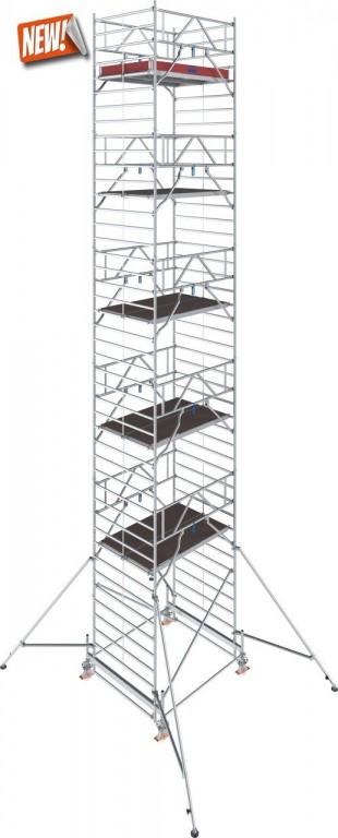 obrázek Hliníkové lešení Stabilo 500 1,5 x 2,5m výška 12,4m KRAUSE
