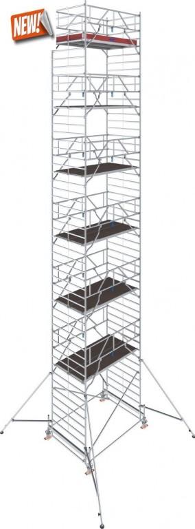 obrázek Hliníkové lešení Stabilo 500 1,5 x 2,5m výška 14,4m KRAUSE