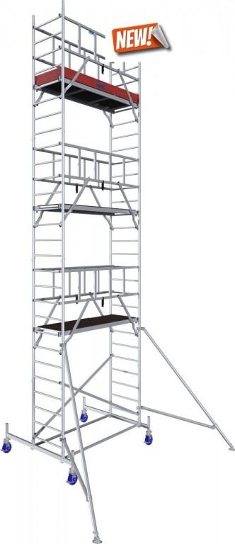 obrázek Pojízdné lešení hliníkové ProTec 8,3m KRAUSE