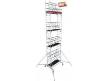 obrázek Pojízdné lešení hliníkové ProTec 9,3m KRAUSE