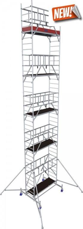obrázek Pojízdné lešení hliníkové ProTec 11,3m KRAUSE