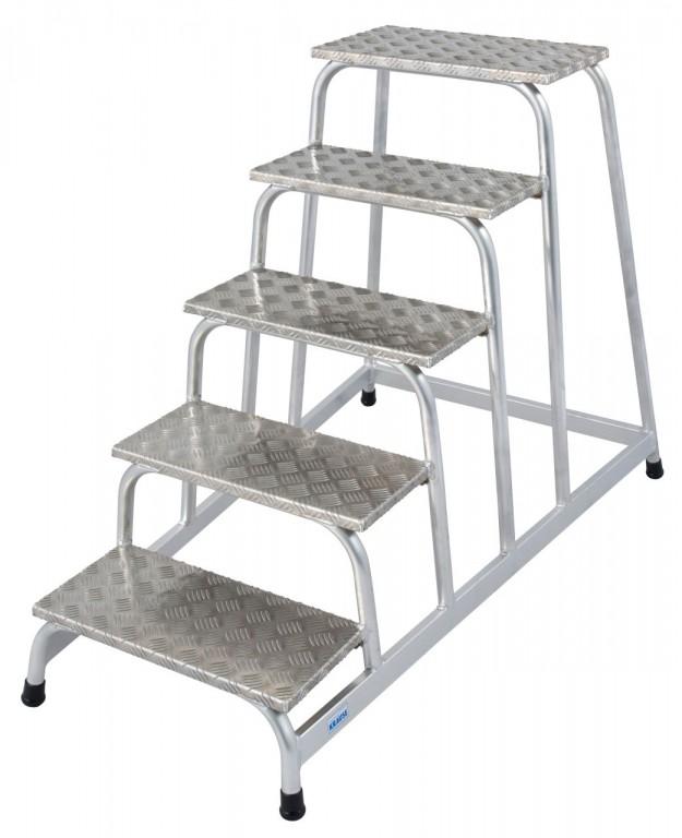 obrázek Podesta hliníkové schody STABILO 5 stupně KRAUSE