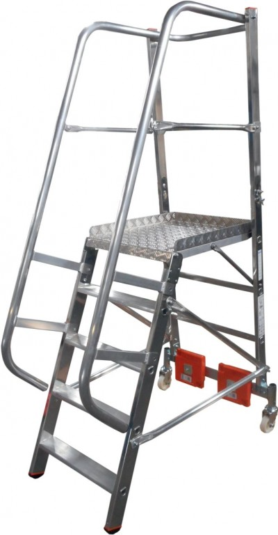 obrázek Podesta VARIO 5 stupňů hliníkové schody ŠÍŘKA 0,82m KRAUSE