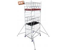 obrázek Hliníkové lešení ProTec XXL 1,35 x 2,0m výška 6,3m KRAUSE
