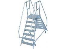 obrázek Průmyslové schody OBOUSTRANNÉ STABILO 2x7 KRAUSE