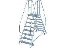 obrázek Průmyslové schody OBOUSTRANNÉ STABILO 2x8 KRAUSE
