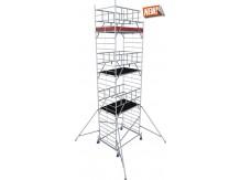 obrázek Hliníkové lešení ProTec XXL 1,35 x 2,0m výška 8,3m KRAUSE