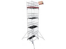 obrázek Hliníkové lešení ProTec XXL 1,35 x 2,0m výška 9,3m KRAUSE