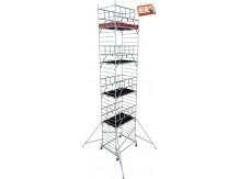 obrázek Hliníkové lešení ProTec XXL 1,35 x 2,0m výška 10,3m KRAUSE