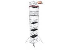 obrázek Hliníkové lešení ProTec XXL 1,35 x 2,0m výška 12,3m KRAUSE
