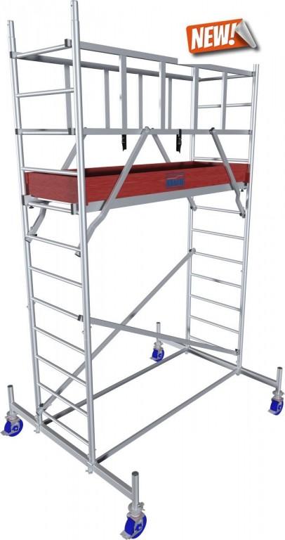 obrázek Pojízdné lešení hliníkové Stabilo 10 délka 2,0m výška 4,4m KRAUSE