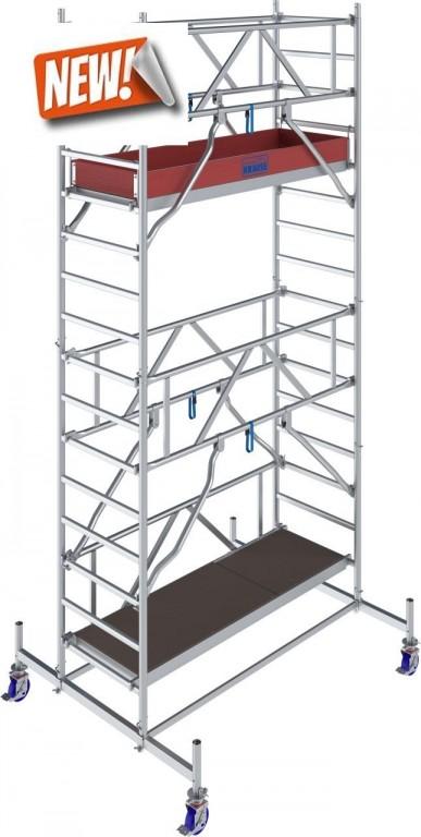 obrázek Pojízdné lešení hliníkové Stabilo 10 délka 2,0m výška 5,4m KRAUSE
