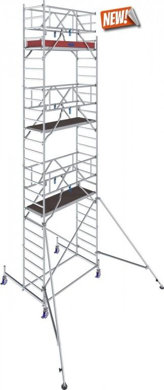 obrázek Pojízdné lešení hliníkové Stabilo 10 délka 2,0m výška 8,4m KRAUSE