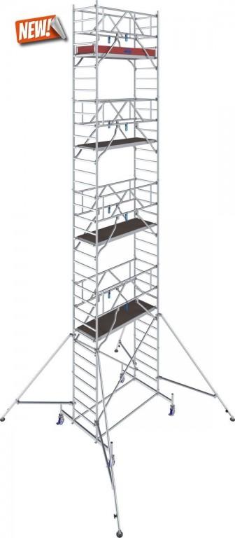 obrázek Pojízdné lešení hliníkové Stabilo 10 délka 2,0m výška 10.4m KRAUSE