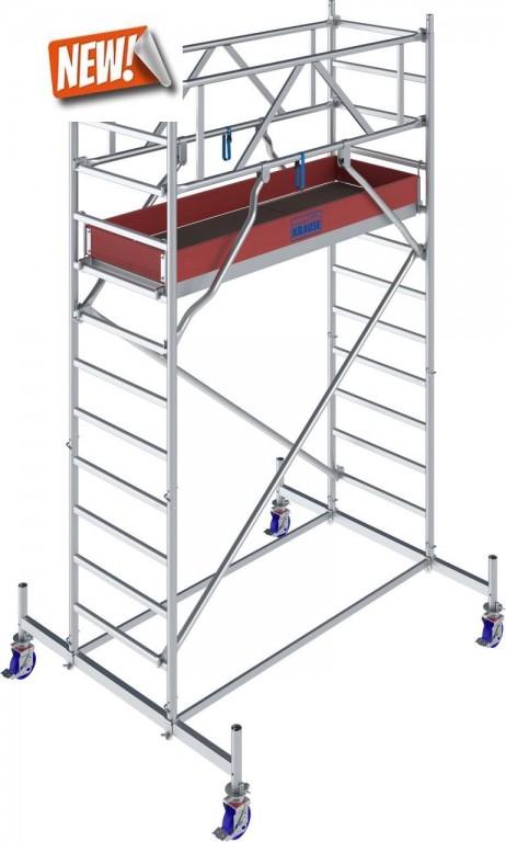 obrázek Pojízdné lešení hliníkové Stabilo 10 délka 2,5m výška 4,4m KRAUSE