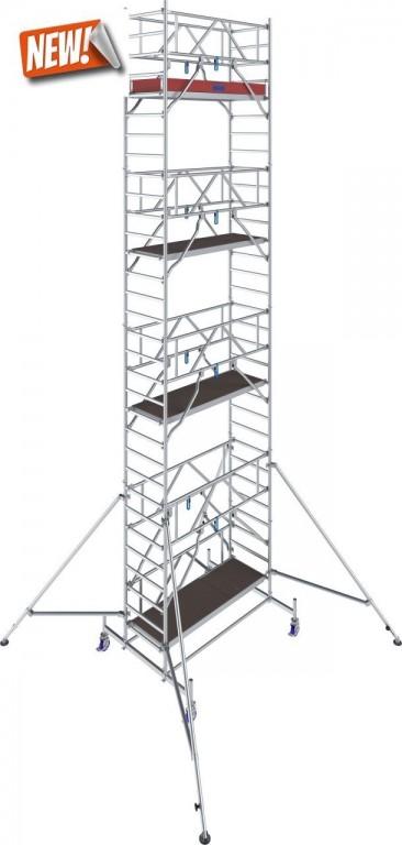 obrázek Pojízdné lešení hliníkové Stabilo 10 délka 2,5m výška 9,4m KRAUSE