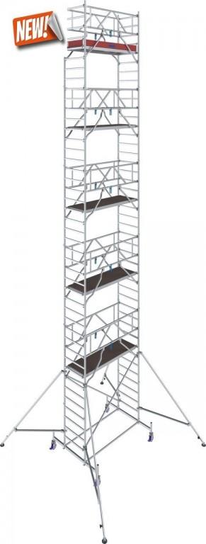 obrázek Pojízdné lešení hliníkové Stabilo 10 délka 2,5m výška 12,4m KRAUSE