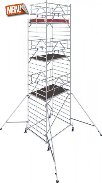 obrázek Hliníkové lešení Stabilo 50 délka 2,5m výška 8,4m KRAUSE