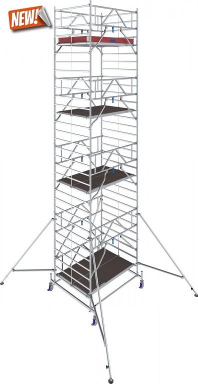 obrázek Hliníkové lešení Stabilo 50 délka 2,5m  výška 9,4m KRAUSE