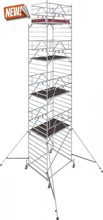 obrázek Hliníkové lešení Stabilo 50 délka 2,5m výška 10,4m KRAUSE