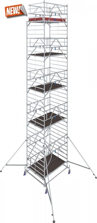 obrázek Hliníkové lešení Stabilo 50 délka 2,5m výška 11,4m KRAUSE