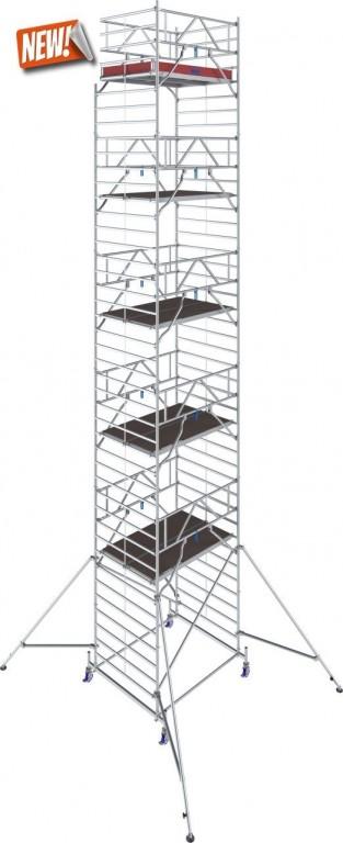 obrázek Hliníkové lešení Stabilo 50 délka 2,5m  výška 12,4m KRAUSE