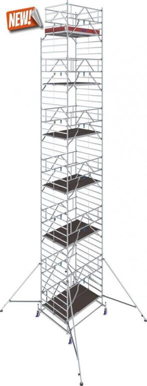 obrázek Hliníkové lešení Stabilo 50 délka 2,5m výška 13,4m KRAUSE