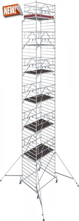 obrázek Hliníkové lešení Stabilo 50 délka 2,5m výška 14,4m KRAUSE